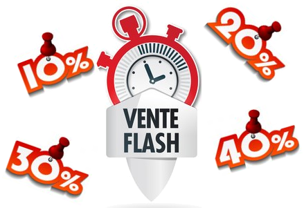 Logo vente flash
