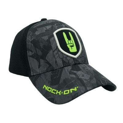 Casquette NOCK-ON  Black Stealth Fitted