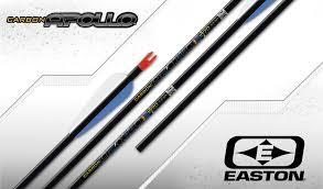 4 Tubes EASTON Apollo 1600