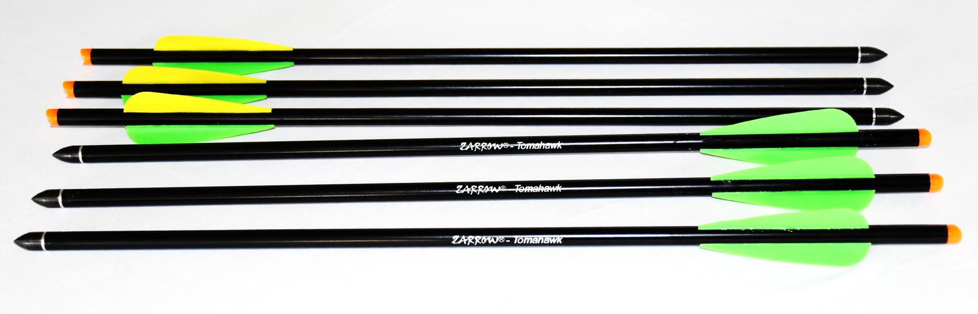 Zarrow tomohawk crossbow aluminum arrow 2